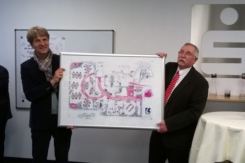 Projekt: Wertschätzend, wirtschaftlich, visionär – das Kunden-Service-Center der Sparkasse Duisburg